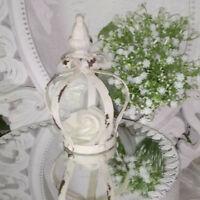 Krone Dekokrone deko  15cm Metall Deko Shabby Vintage Landhaus