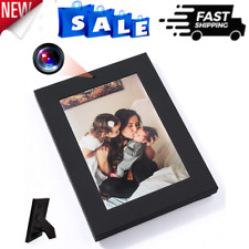 Best Picture Frame Hidden Nanny Spy HD Video Camera Microphone With Motion Black