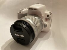 Canon EOS Rebel SL2/200D/X9 24.2MP With 18-55mm Lens Silver Near Mint w/ Extras