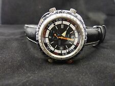Rare Vintage  Sicura by Breitling ,slide rule Divers watch amazing condition