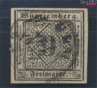 Württemberg 4 Pracht gestempelt 1851 Ziffern in Raute (8162217