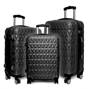 """20/24/28"""" Small Large Suitcase Hard Shell Travel Trolley Hand Luggage"""