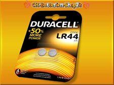 8 x Duracell Knopfzellen Alkaline LR44 A76 KA76 V13GA 4x2er Blister Batterien