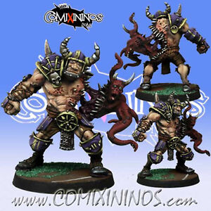 Fantasy Football -Chaos Pact OGRE MUTATED for Blood Bowl - Meiko Miniatures