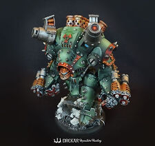 Khador Behemoth Warjack ** COMMISSION ** painting warmachine