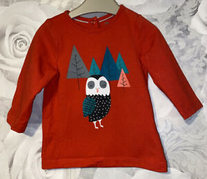 Boys Age 0-3 Months - Long Sleeved Top From Orchestra