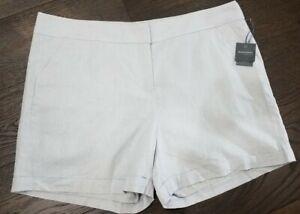 Madison Belk Curvy Linen Blend Women's Shorts Size 22W