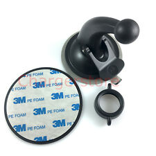 Car suction cup mount + 3M Adhesive disc for Garmin Dash cam 35 30 20 HD Camera