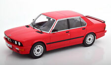 Norev 1986 BMW M535i (E28) Red Color in 1/18 Scale New Release! In Stock!