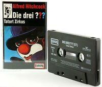 Die drei ??? 57 Fragezeichen Tatort Zirkus Hörspiel  MC schwarz Kassette