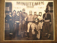 "Watchmen 10.5"" x 13"" [ Minutemen ]  Photo Poster Print  Prop - B2G1F"