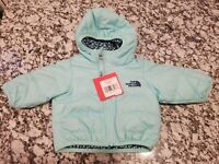 The North Face Reversible Jacket Infant Girl 0-3M *MSRP $70.00 USD*