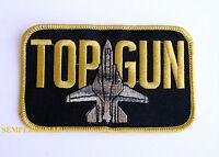 US NAVY TOP GUN F-14 TOMCAT PATCH USS TOPGUN USS PIN UP NAS NAF PILOT WING ACE