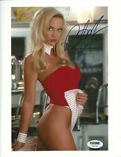 Barbara Moore Signed Playboy 8x10 Photo PSA/DNA COA Playmate Picture Autograph S