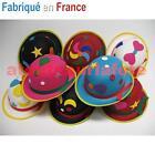 Chapeau de Clown,Melon couleur adulte,Accessoires,Carnaval,Déguisement,Fête