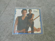 """BRUCE SPRINGSTEEN-FIRE--7"""" SINGLE-WL PROMO-PS-PROMO ONLY-RARE-NM"""