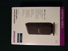 Netgear Cm600 1-Port Gigabit Wired Cable Docsis 3 Modem (Cm600-100Nas)