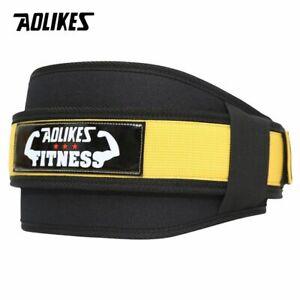 Correa Para Levantar Pesas Cinturón Ajustable Protección Espalda Baja Lumbar