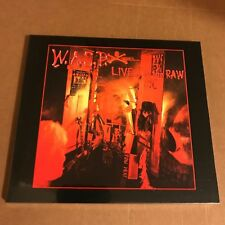 "WASP ""Live ... In The Raw"" CD 2018 Sealed [W.A.S.P Headless Children]"