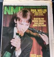 New Musical Express Dec 1982 Paul Weller Martin Fry Shalamar   MBX24D