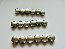 CHEVY Chrome Motor Engine Bolts Caps Covers Dress-up Kit set 18 NOS CAMARO