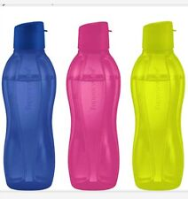 Tupperware Medium  eco water bottle.  Set of three.