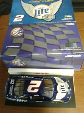 Action Rusty Wallace Miller Lite Harley Davidson 1999 Ford Taurus 1/24 Diecast