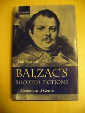 Balzac's Shorter Fictions: Genesis and Genre - Tim Farrant