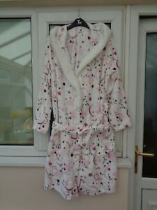 Ladies Tu Disney Minnie Mouse Constellation Hooded Dressing Gown Size M BNWT