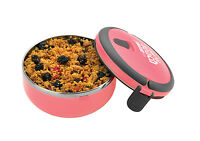 Pioneer Out For Lunch Round Vacuum Sandwich Box Clip Down Lid Girls Boys Kids