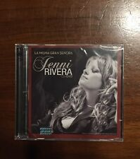 "NEW Factory Sealed Jenny Rivera ""LA MISMA GRAN SENORA""CD-DVD"