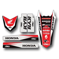 Trim Kit For 2009 Honda CRF450R Offroad Motorcycle Factory Effex 17-50324
