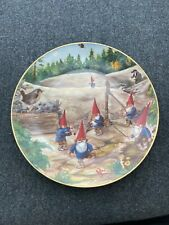 """Rien Poortvliet Collector Secrets Of The Gnomes """"Search For The Stradivarius"""" Nm"""