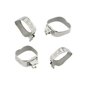 Orthodontic Molar Bands 0.022 Roth MBT Weld Single Buccal Tube For 3M Size 32-44