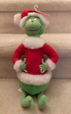 "Dr Seuss Grinch Christmas 17"" Plush Stuffed 1998"