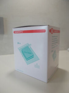 Vliesstoffkompressen Nobatop 8 sterile Kompressen 100 (50/2) Stück Gr. wählbar