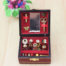 1/12 Dollhouse Miniatures Jewelry Box /Doll House Accessory Room Decor Pop*