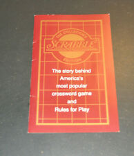 New ListingRare Franklin Mint Scrabble Rule Book Booklet only