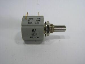 Potentiometer 10 turns 0 - 5kΩ precision,wirewound,,linear