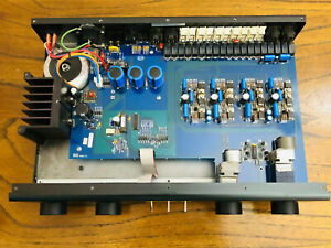 Adcom GFP-750 Stereo Preamplifier; GFP750 Pre-Amp Blue Circuit Board VERY NICE!!