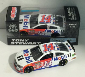 NASCAR 2016 TONY STEWART #14 MOBIL 1 1/64 CAR LAST CUP SEASON