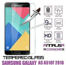 Pellicola in Vetro Temperato per Samsung Galaxy A5 A510f 2016 Tempered Glass