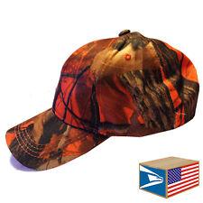 BASEBALL CAP Real Tree Orange CAMO CAMOUFLAGE HUNTiNG FISHING ADJUSTABLE HAT!