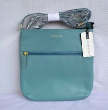 Fiorelli Sea Green/Blue Leather Across Body Shoulder Bag BNWT RRP £79 New!