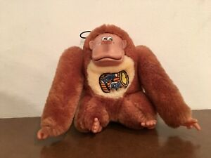 Donkey Kong Etone Plush Bean Bag Toy 1982