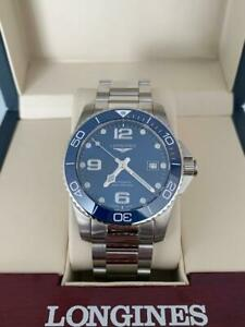 Longines - HydroConquest Automatic 41mm Blue Dial Men's Watch