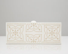 WOLF 308453 Marrakesh Cream Safe Deposit Box Studded Mosaic Design