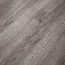 12mm Laminate Flooring w/padding attached- Timeless Designs Heather Grey-SAMPLE