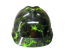 Warrior Green MSA V-GUARD Cap Hard Hat