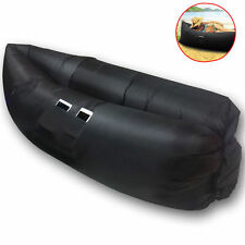 Uniwide Chill Chair Inflatable Lounge (black) 180x80cm